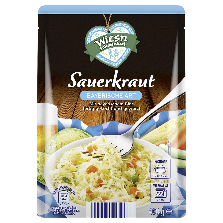 WIESN SCHMANKERL Sauerkraut-Spezialität 400 g*