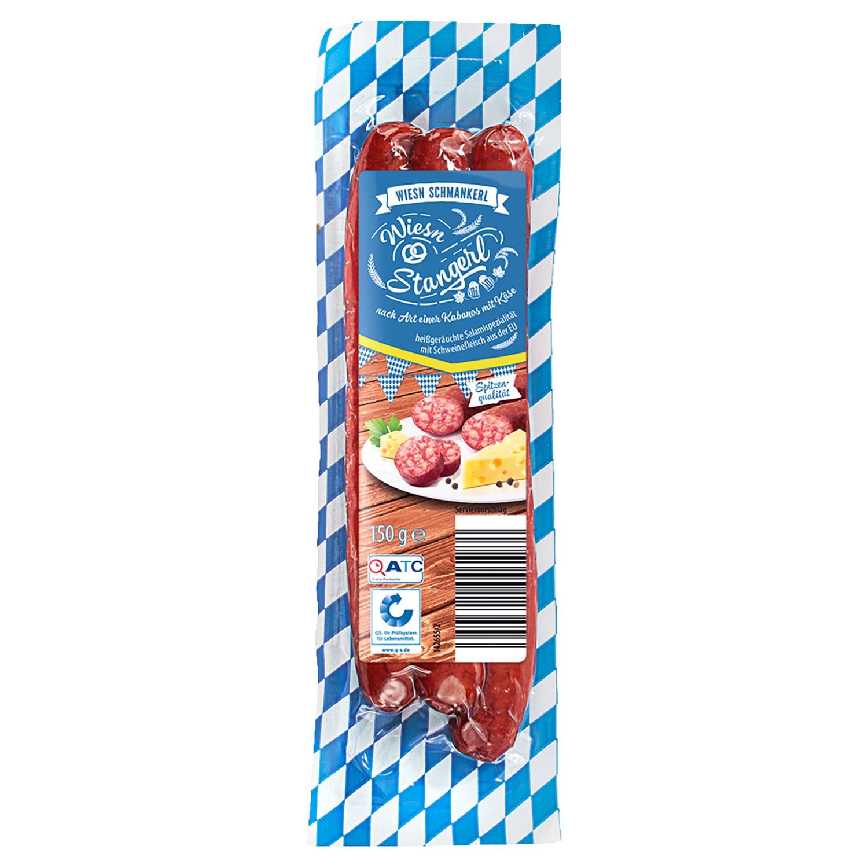 WIESN SCHMANKERL Salami Oktoberfest Sortiment 150 g*