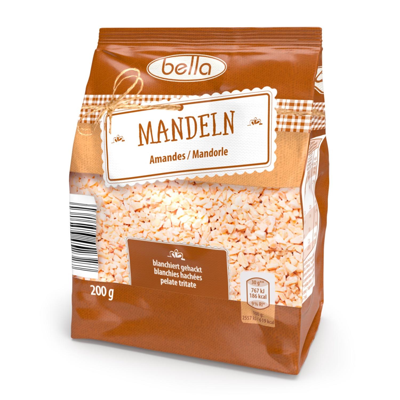 BELLA Mandelvariation, gehackt