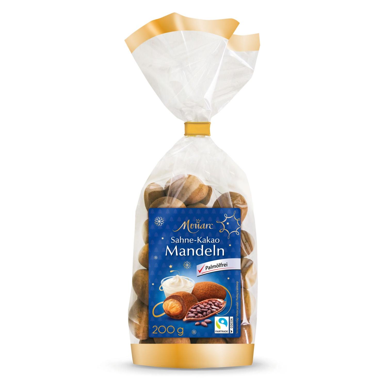 MONARC SAISON Edelnuss-Sortiment, Sahne-Kakao Mandeln