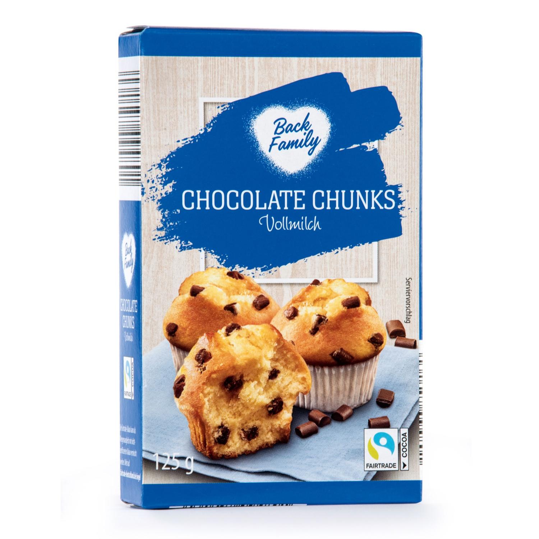 BACK FAMILY Backshop-Spezialität, Chocolate Chunks Vollmilch