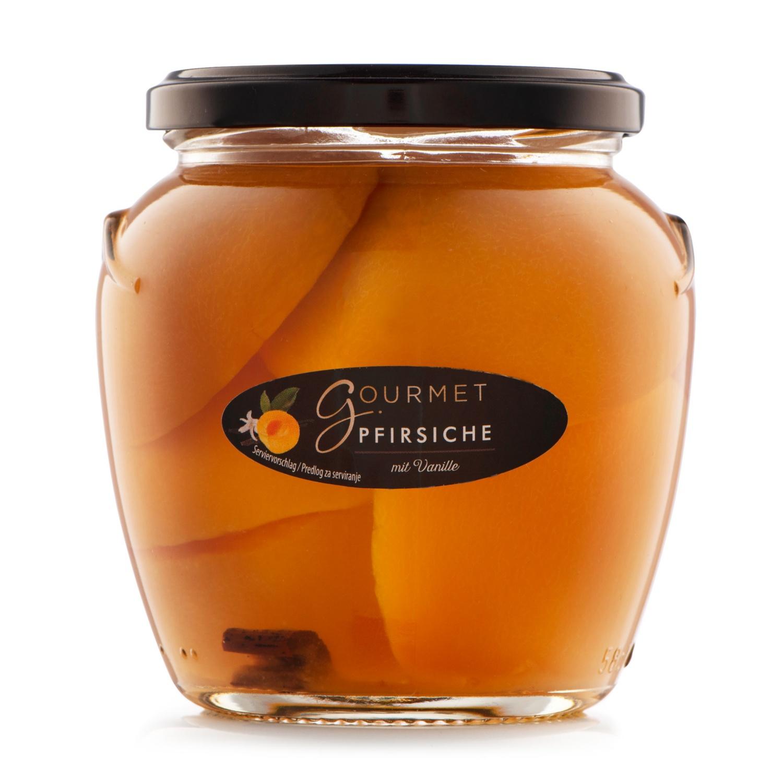 GOURMET Pfirsiche, Vanille
