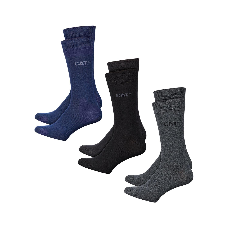 CAT Herren-Socken, 3 Paar