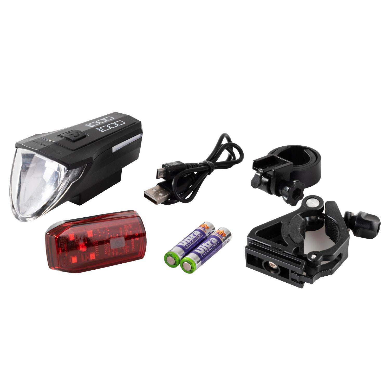 BIKEMATE® Premium-LED-Lampenset
