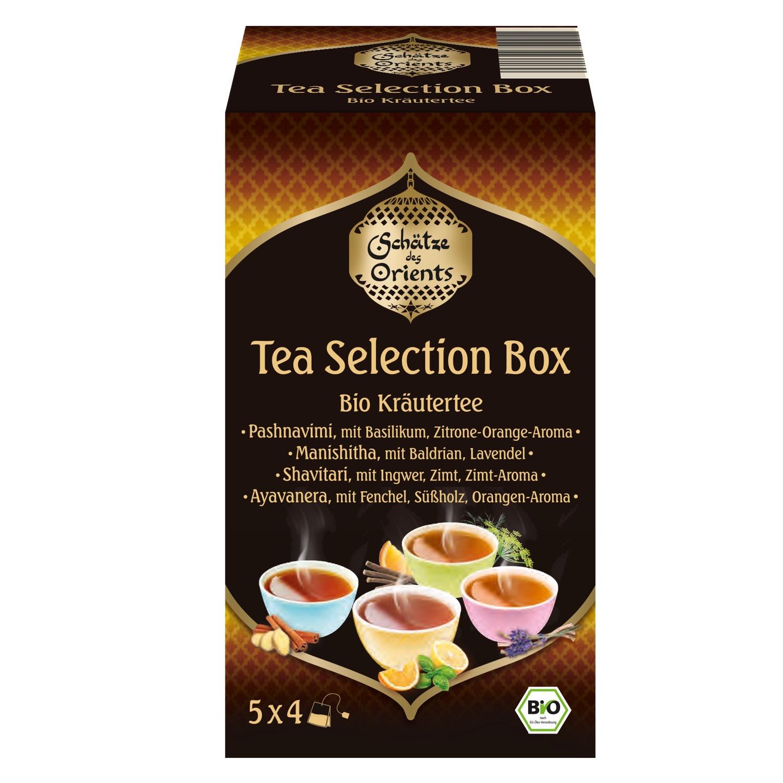 SCHÄTZE DES ORIENTS Tea-Selection-Box 36 g