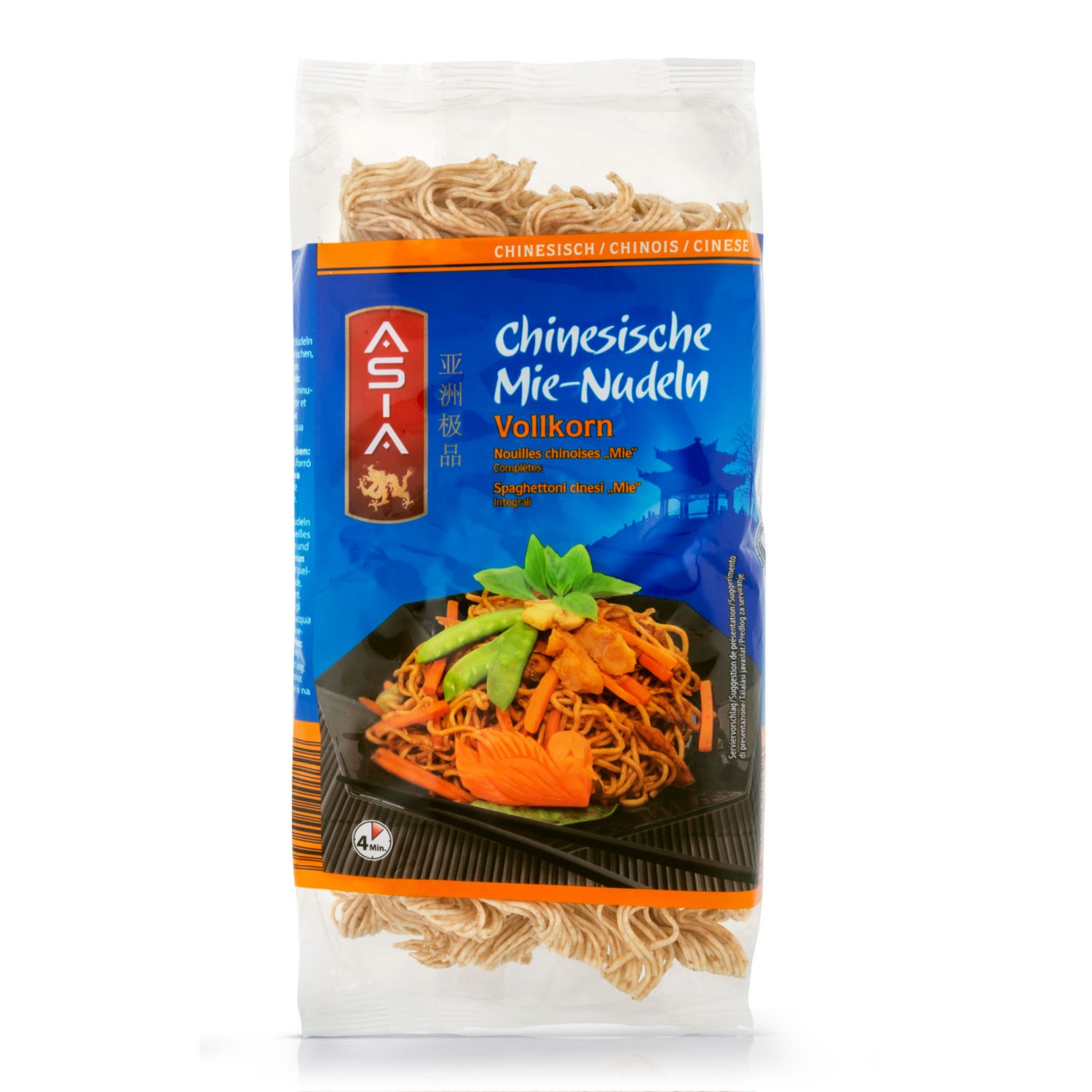 ASIA Mie-Nudeln, Vollkorn