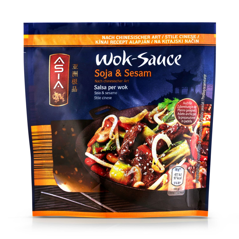 ASIA Wok-Sauce, Soja-Sesam