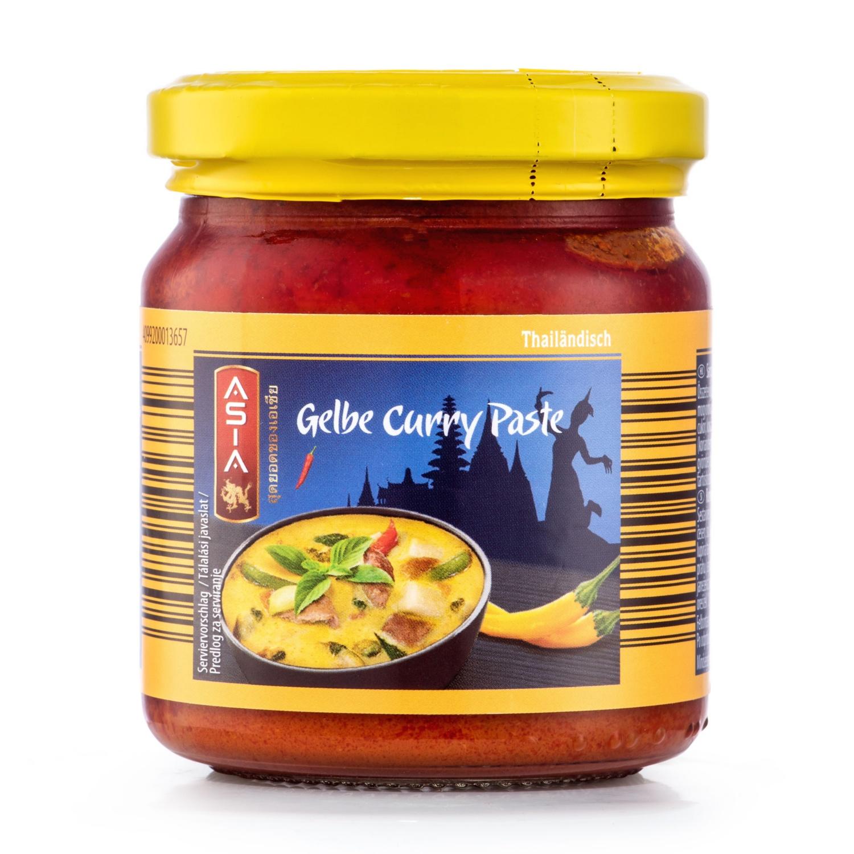 ASIA Curry Paste, Gelb