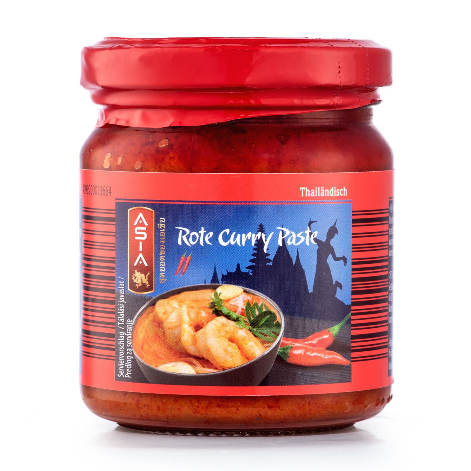 ASIA Curry Paste, Rot