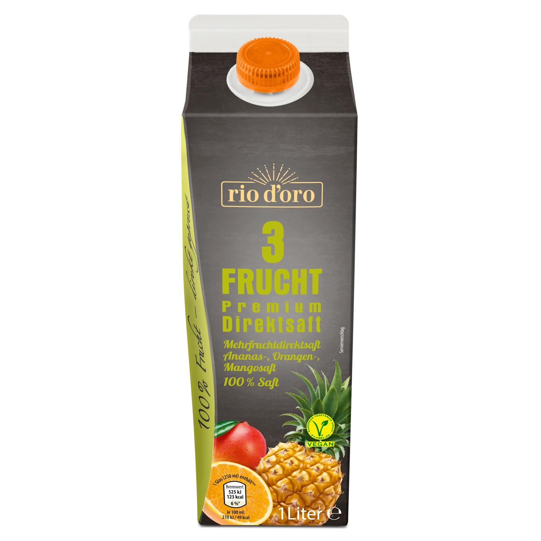 rio d'oro® Mehrfruchtdirektsaft 1 l