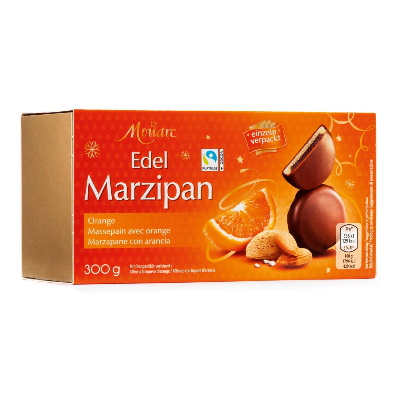 MONARC SAISON Edelmarzipan-Taler, Orange
