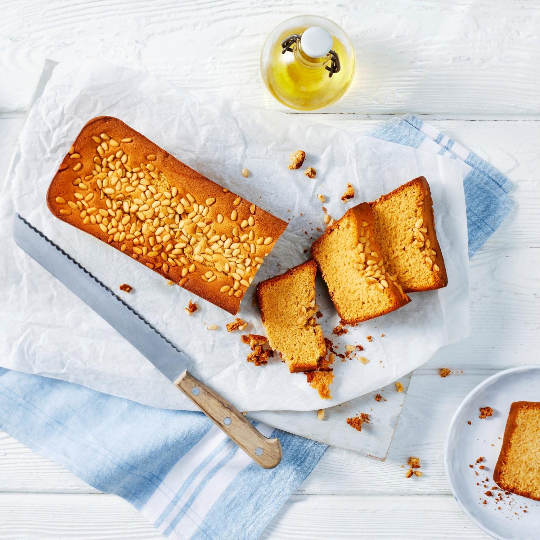 Süßes Honigbrot mit Olivenöl und Orangenlikör