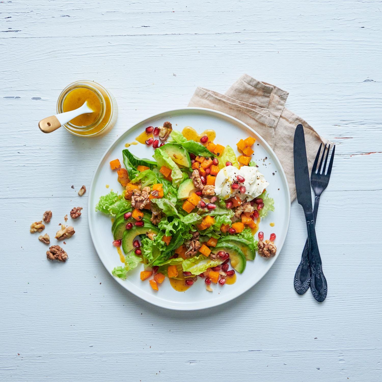 Wintersalat mit Granatapfel