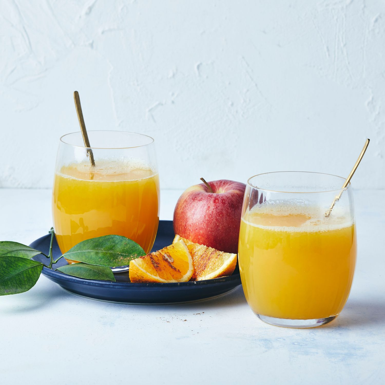Heißer Orangensaft