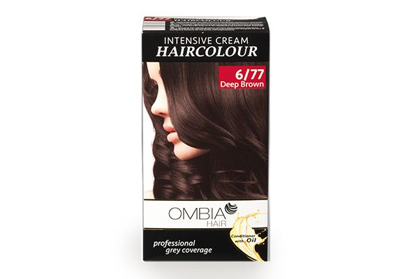 OMBIA HAIR Haarfarbe Dunkel