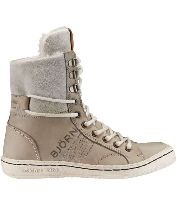 Björn Borg | Wendy High Fur Light Grey