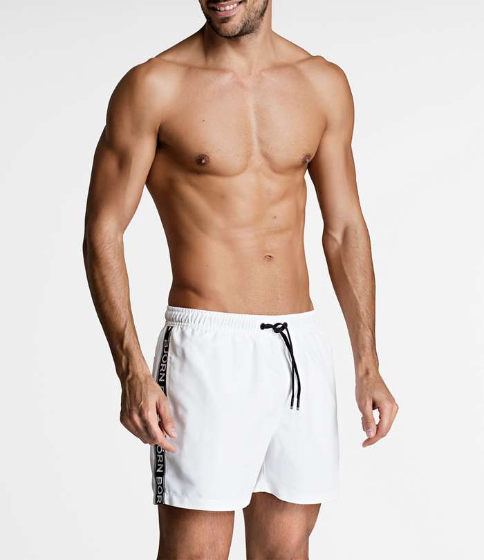 Björn Borg | 1p SWIM SHORTS SEASONAL SOLIDS White