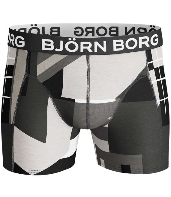 Björn Borg | 2p SHORTS BB MULTI COLLAGE & BB TROPICAL Black