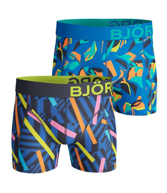 Björn Borg | 2p SHORTS BB STICKS & BB GRAPHIC Peacoat