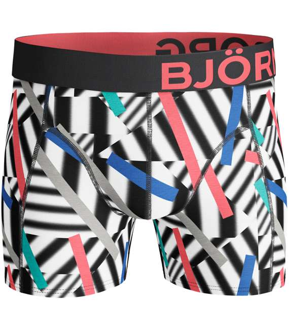 Björn Borg | 2p SHORTS BB STICKS & BB GRAPHIC Black