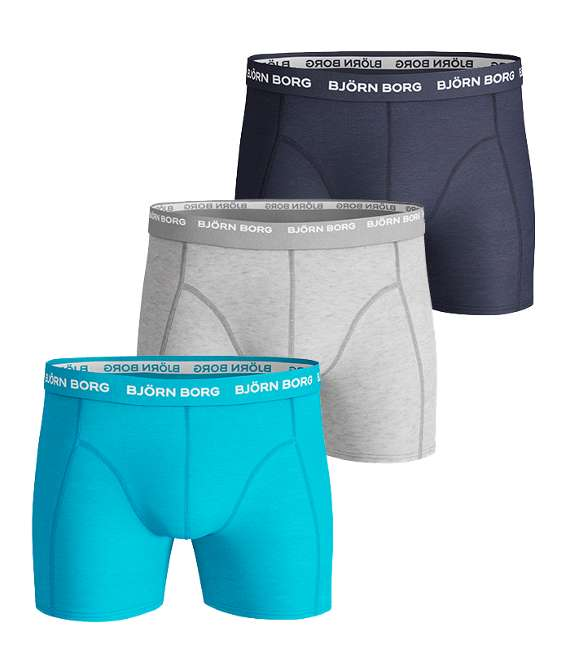 Björn Borg | 3p SHORTS SEASONAL SOLIDS Aquarius