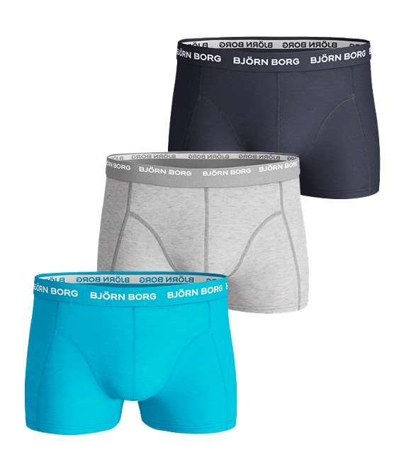 Björn Borg | 3p SHORT SHORTS SEASONAL SOLIDS Aquarius