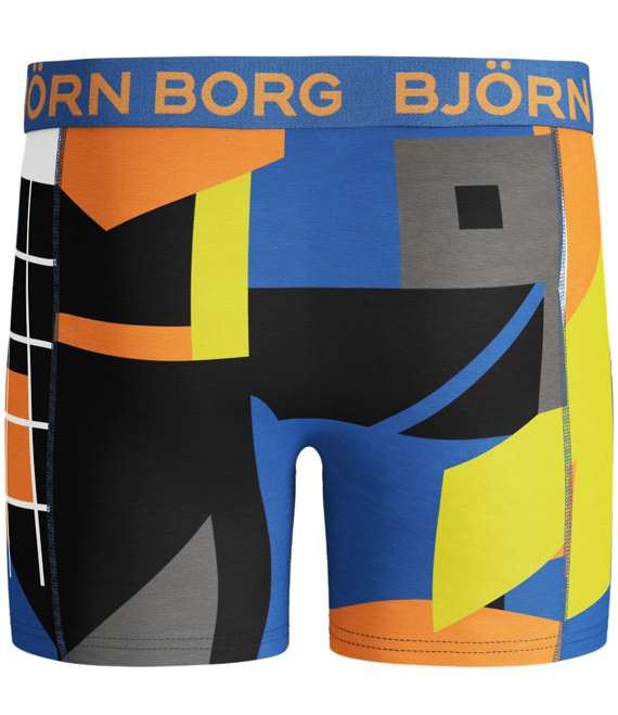 Björn Borg | 1p SHORTS BB MULTI COLLAGE Directoire Blue