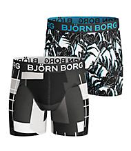 Björn Borg MULTI COLLAGE & TROPICAL Boys Shorts Bla