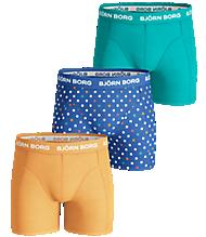 Björn Borg DOT Boys shorts Orange 3-pack