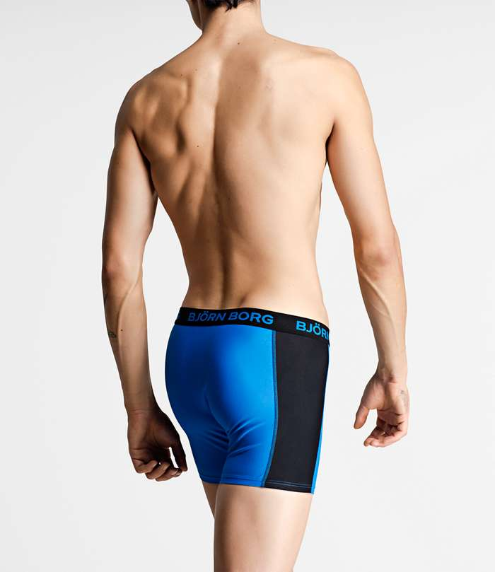 Björn Borg | 1p SWIM SHORTS SEASONAL SOLIDS Electric Blue Lemonade
