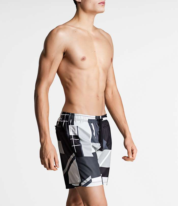Björn Borg | 1p SWIM SHORTS BB MULTI COLLAGE Black