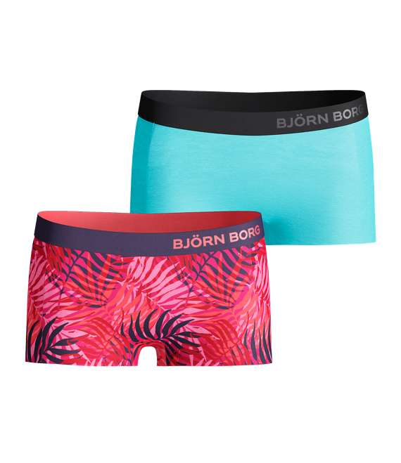 Björn Borg | 2p MINISHORTS BB PALM Fuchsia Purple
