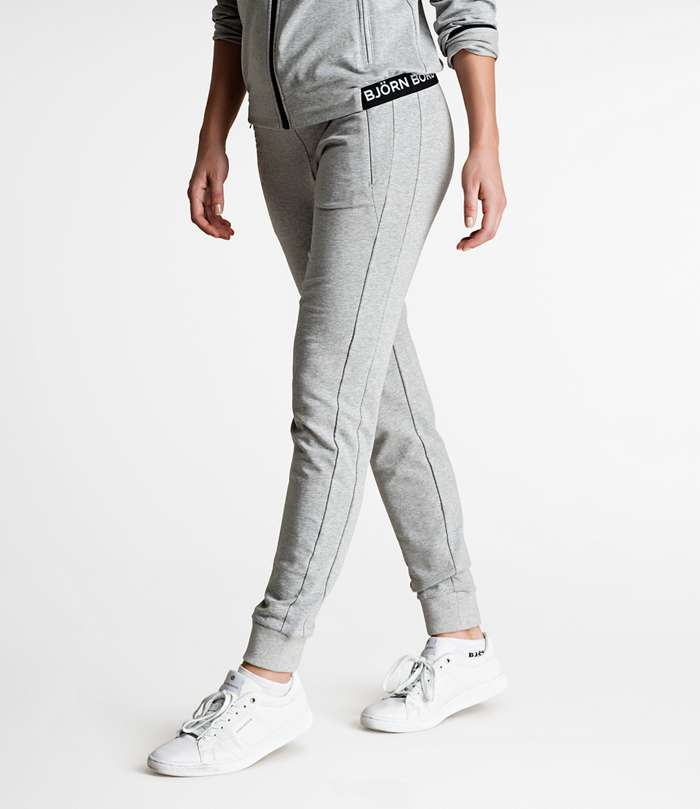 Björn Borg | 1p PANTS SHAWNA Light Grey Melange