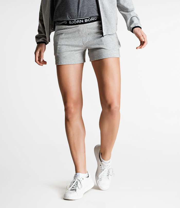 Björn Borg | 1p SHORTS TULIPA Light Grey Melange