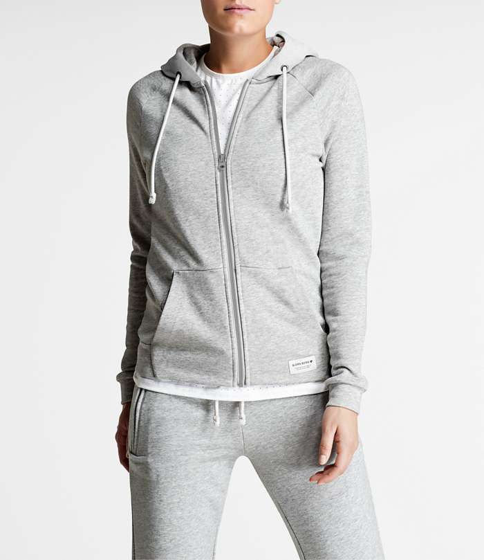 Björn Borg | 1p HOODY SUE Light Grey Melange
