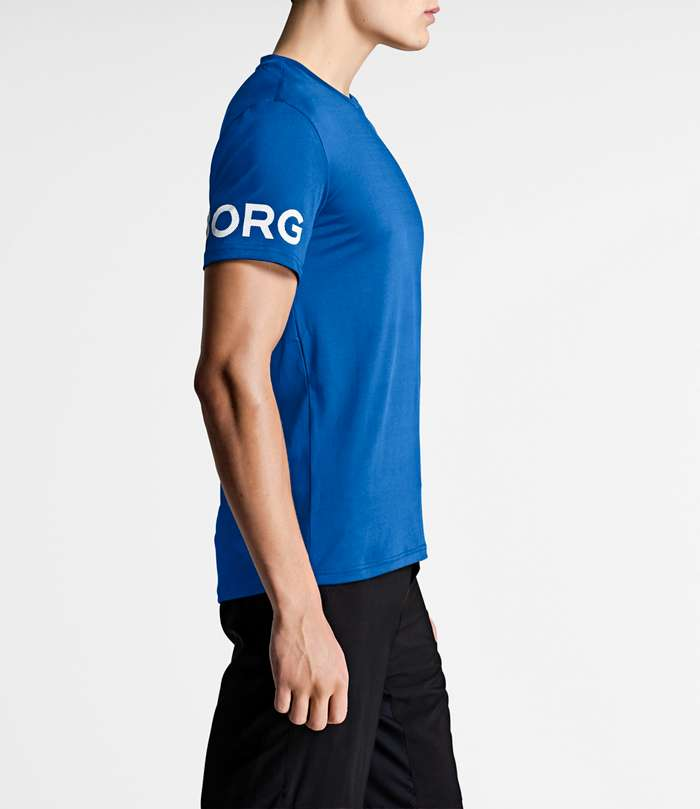 Björn Borg | 1p TEE PALMER Electric Blue Lemonade