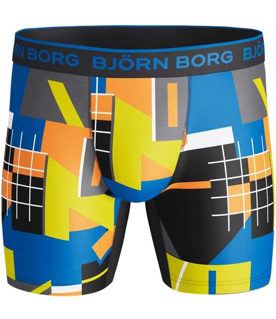 Björn Borg | 1p SHORTS BB MULTI COLLAGE Black