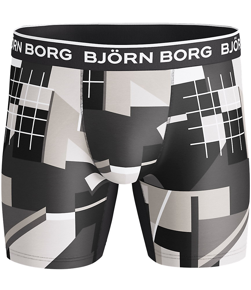BB MULTI COLLAGE Performance Pro Shorts Grey