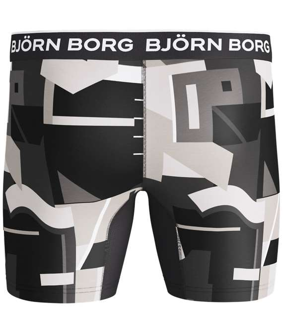 Björn Borg | 1p SHORTS BB MULTI COLLAGE Castlerock