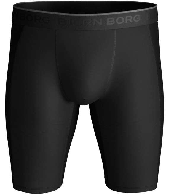 Björn Borg | 1p LONG SHORTS BB PERFORMANCE PRO WINDPROOF SOLID Black