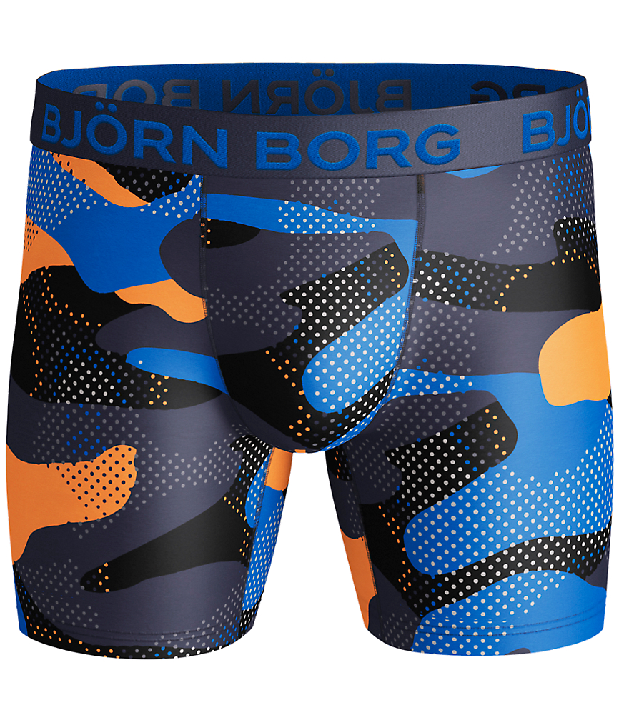 BB ACTIVE CAMO PERFORMANCE SHORTS Navy