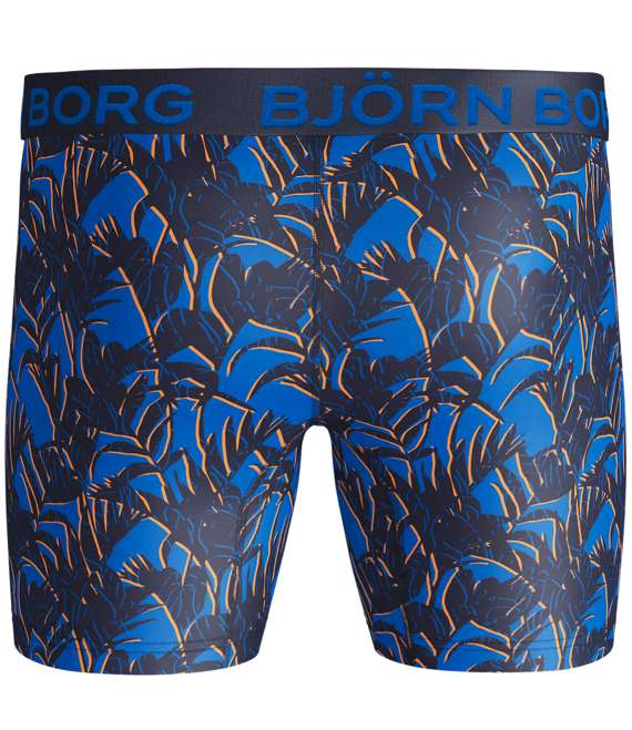Björn Borg | 1p SHORTS BB ACTIVE TROPICAL Peacoat