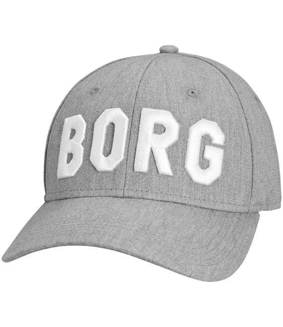 Björn Borg | 1p CAP ADRIAN Light Grey Melange