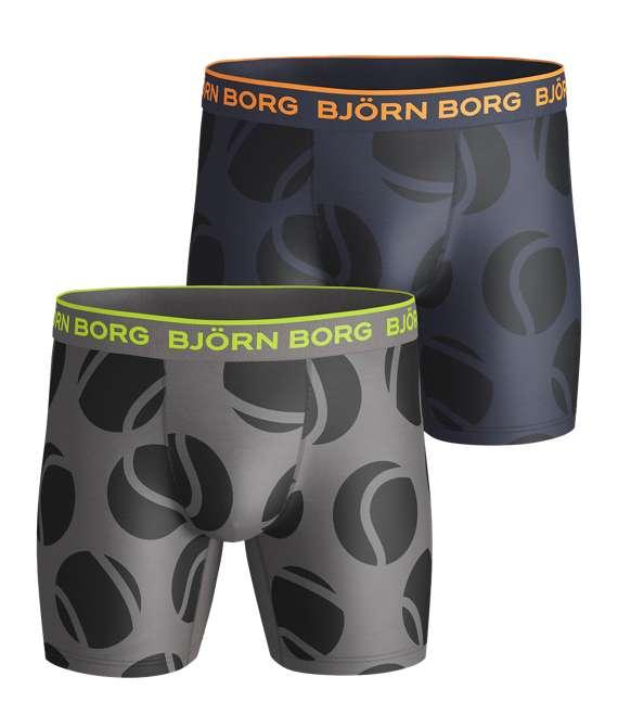 Björn Borg | 2p SHORTS BB PERFORMANCE TENNIS BALL Castlerock