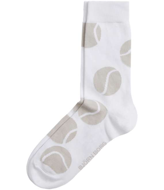 Björn Borg | 1p SOCK BB TENNIS BALL White