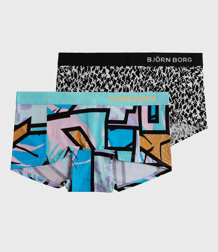Björn Borg | 2p MINISHORTS BB MULTICOLOUR & BB ZIGGY Aquarius