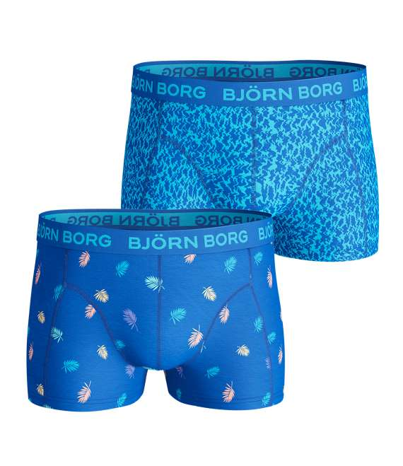 Björn Borg | 2p SHORT SHORTS BB MULTI PALM & BB ZIGGY Directoire Blue