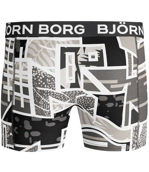 Björn Borg | 1p SHORTS BB MULTICOLOUR Black