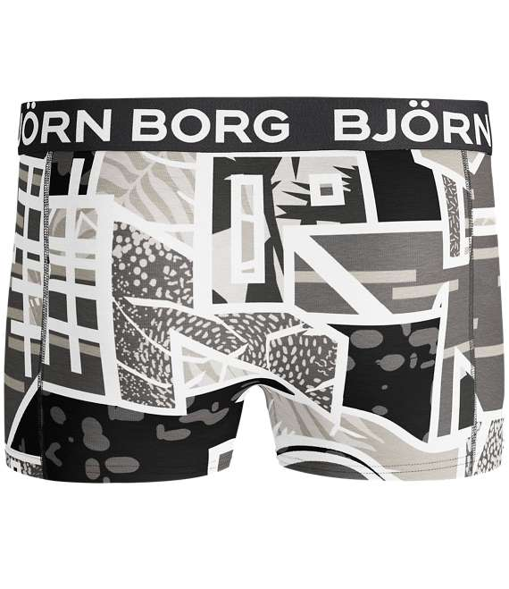 Björn Borg | 1p SHORT SHORTS BB MULTICOLOUR Black