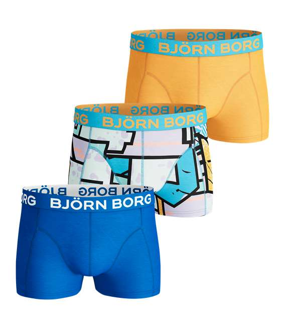 Björn Borg | 3p SHORT SHORTS BB MULTICOLOUR Aquarius